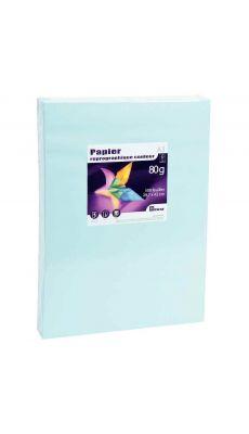 First - 24439 - Ramette papier A3 80g - Bleu vif - 500 Feuilles