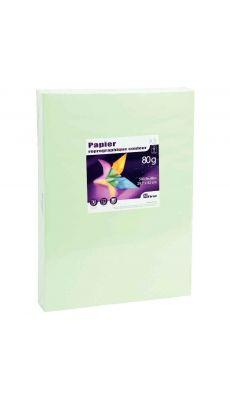 First - 24440 - Ramette papier A3 80g - Vert vif - 500 Feuilles