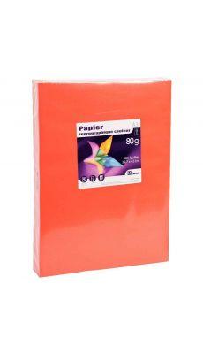 First - 24441 - Ramette papier A3 80g - Rouge vif - 500 Feuilles