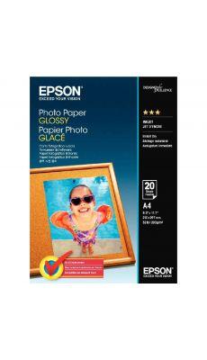 Epson - C13S042538 - Papier photo glacé - A4 - 200g - Paquet de 20