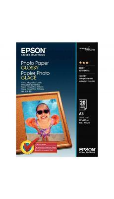 Epson - C13S042536 - Papier photo glacé - A3 - 200g - Paquet de 20