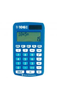 TEXAS INSTRUMENTS - Machine à calculer de poche Scolaire TEXAS TI106II