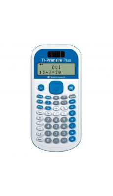 TEXAS INSTRUMENTS - Calculatrice scientifique Texas TI Primaire Plus