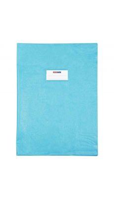 Protège cahier en PVC série Opaque, format 21 x 29.7 cm. Qualité supérieure, épaisseur 21/100è. Coloris bleu clair