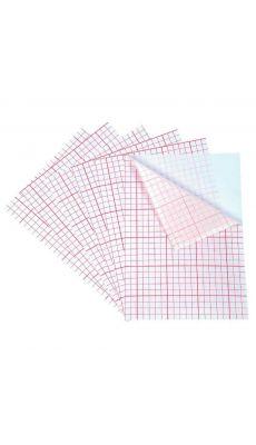Feuilles de polyphane adhésif Dimensions (L xl) : 20 x 28 cm - Lot de 6