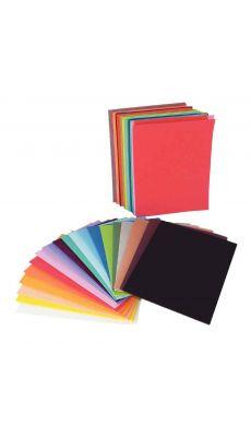 OZ INTERNATIONAL - SC41003 - Sachet de 60 plaques de caoutchouc, format A5, couleurs assorties