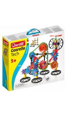 """Boite de transmissions """"GEORELLO"""". 266 pièces en plastique résistant"""