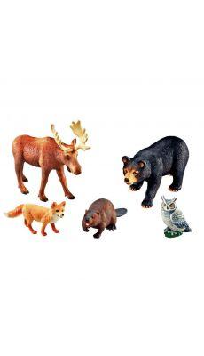 Jumbo animaux de la foret - Lot de 5
