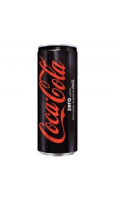 Canettes de Coca-Cola zéro 33cl - Pack de 24