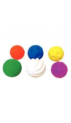 Sachet de 6 balles tactiles