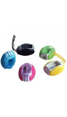 LOCAU - 20755 - Taille crayon plastique 1 usage + reserve