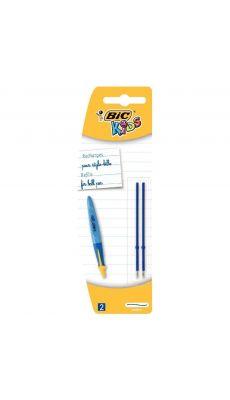 BIC - 34283 - Recharge pour stylo bille PM Twist Ergo encre bleue - Lot de 2