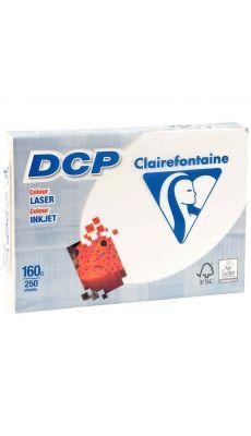 Clairefontaine - 6826 - Ramette papier DCP A4 160g - Ivoire - 250 Feuilles