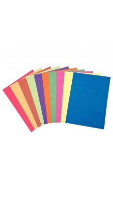 Paquet de 250 feuilles KALEIDOSCOPE A4 100g couleur assortis