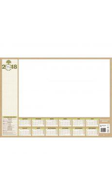 Bouchut grandremy  - 00454 - Bloc sous-main 25 feuillets papier natura 38.5 x 54 cm