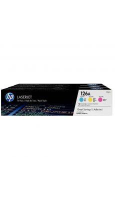 HP - CF341A - Toner Cyan / Magenta / Jaune