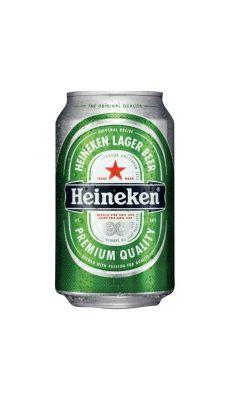 Pack de 24 Canette de 33CL bière Heineken