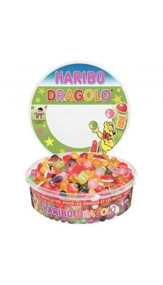 Bonbons HARIBO DRAGOLO - Boite de 750g