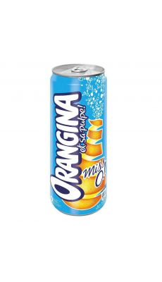 Pack de 24 boites de 33CL orangina light