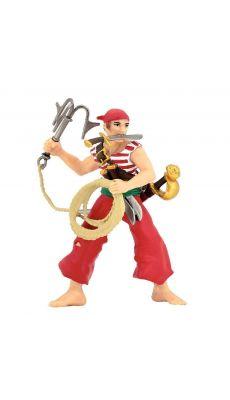 Lot de 8 figurines pirates et corsaires