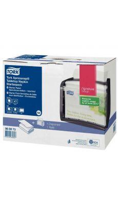 TORK - Distributeur serviette noir et rechargeable