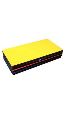 Tapis de sport 115x60x5cm jaune