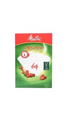 Filtre a café n°4 melita - Paquet de 40