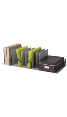 PAPERFLOW - 4933.02 GRIS - Trieur pour armoire à 9 séparateurs amovibles, coloris : gris
