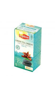 LIPTON - 01592 - Boite 25 Lipton the vert menthe