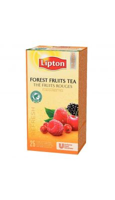 LIPTON - 101949 - Boite 25 lipton the fruits rouges