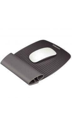 Fellowes - CRC 93118 - Tapis de souris ergonomique I-Spire gris