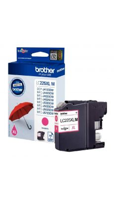 Brother - LC-225XL M - Cartouche Magenta