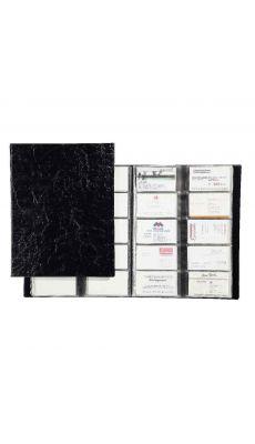 Durable - 2445-01 - Porte carte visite Visifix A4 - Album de 400 Cartes