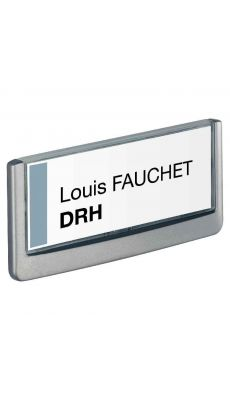 Durable - 4860-37 - Plaque de porte Click sign - 149x52.5 mm
