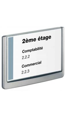 Durable - 4866-37 - Plaque de porte Click sign - 210x148.5 mm