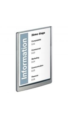 Durable - 4867-37 - Plaque de porte Click sign - 210x297 mm