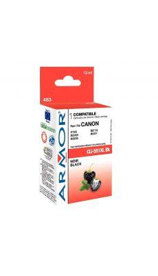 ARMOR - K12624 - Cartouche compatible Canon CLI551XL Noir
