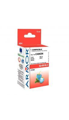 ARMOR - K12625 - Cartouche compatible Canon CLI551XL Cyan