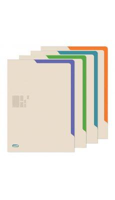 Pochette coin Elba Business opaque - paquet de 4 coloris assortis
