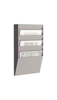 PAPERFLOW - A4H1X6.02 - Trieur horizontal comprenant 6 cases A4.