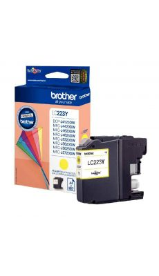Brother  - LC-223Y - Cartouche Jaune