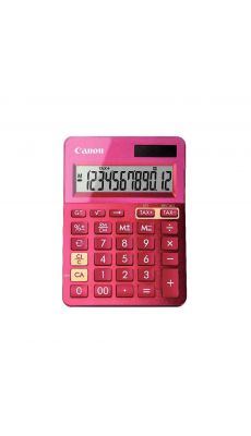 Canon - LS-123K - Calculatrice de bureau couleur rose
