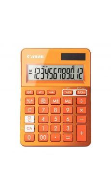 Canon - LS-123K - Calculatrice de bureau couleur orange