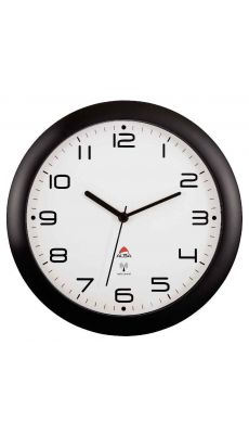 ALBA - HORNEWRC/N - Horloge murale diamètre 30cm radiopilotée