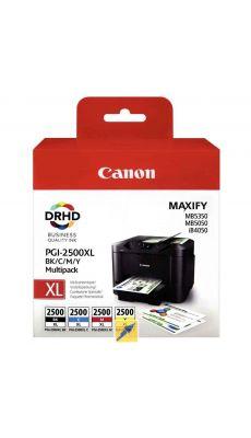 Canon - 0040X064 - Cartouche noir et couleur Maxify PGI 2500 XL