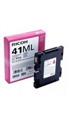 RICOH - Cartouche jet d'encre gel Ricoh GC-41ML magenta