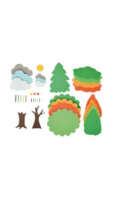 Kit Les 4 saisons composé de 540 pièces en mousse