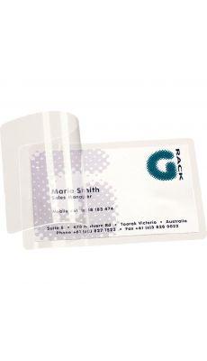 TARIFOLD - Pochettes plastification à froid 66x100mm - Sachet de 10