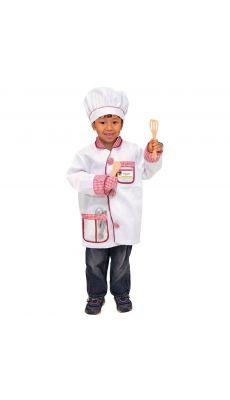 """Déguisement """"Chef de cuisine"""" + accessoires"""