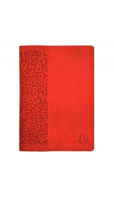 Exacompta - 184125E - Agenda 1 jour page Winner 170x120 rouge